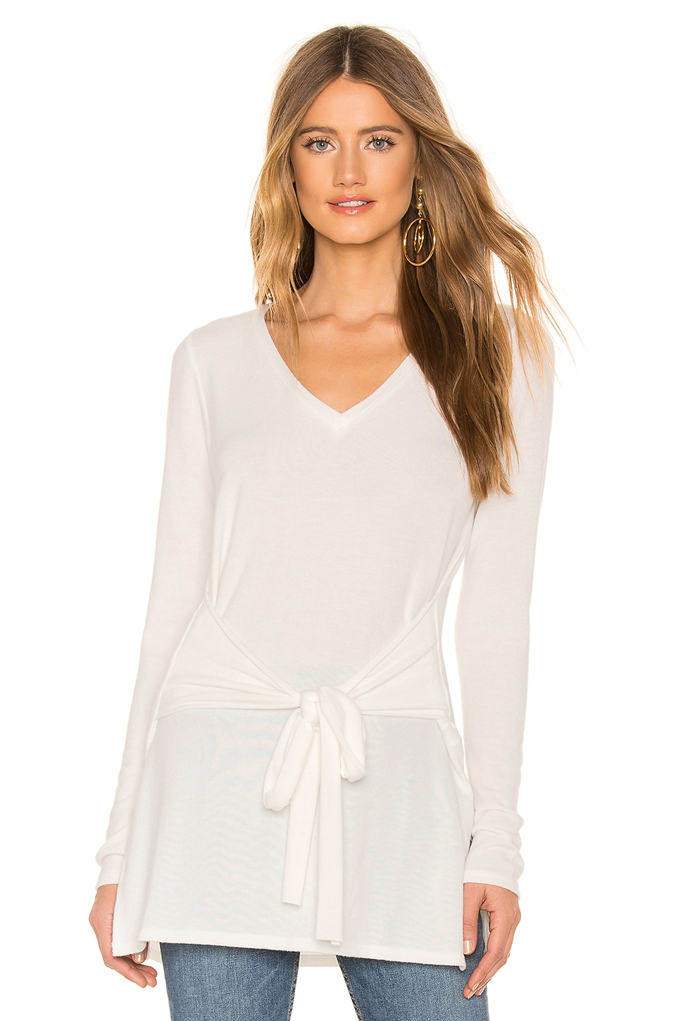 LA Made x REVOLVE Elliot Tunic Top in Ivory