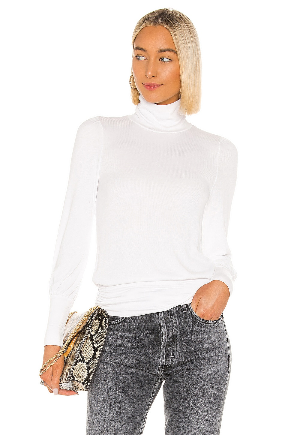 LA Made Milena Top in White