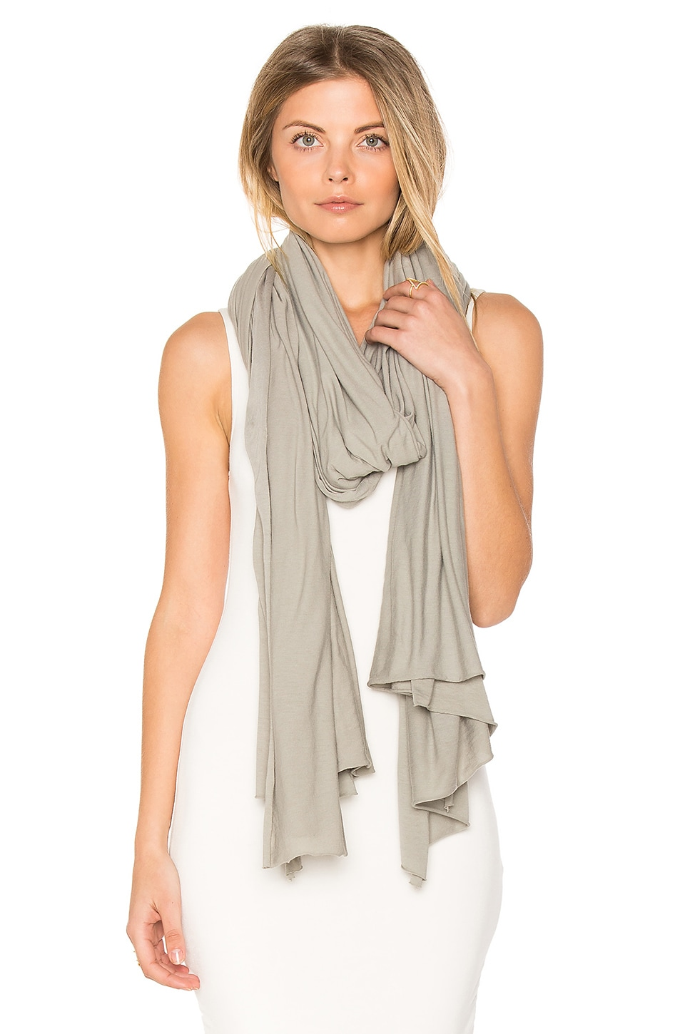 LA Made Zingo Scarf in Moonmist