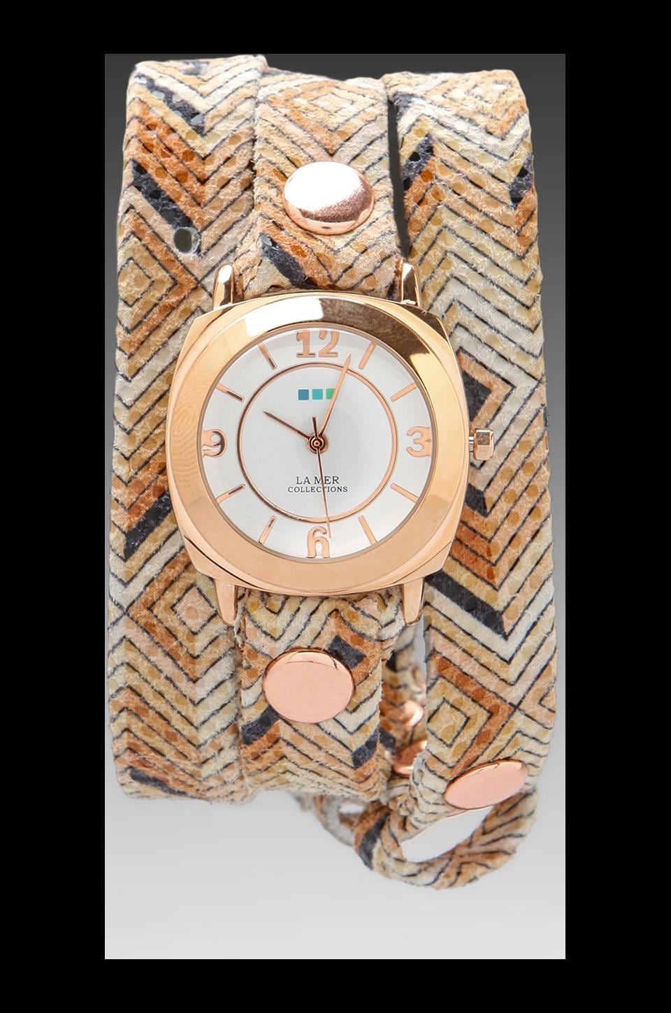 La Mer Aztec Odyssey Wrap in Rose Gold