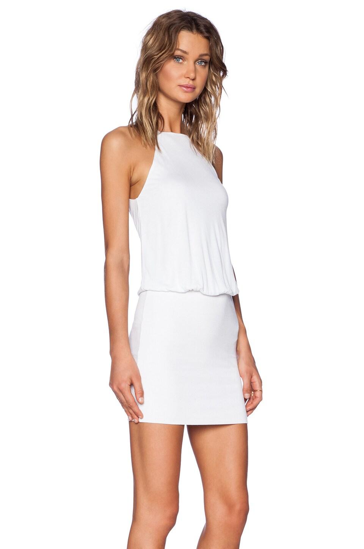 White Halter Dresses
