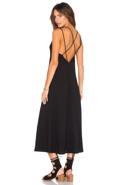Cross Back Ankle Dress at Revolve Clothing