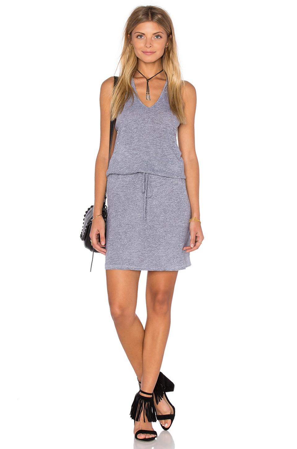 V Neck Racerback Dress at Revolve Clothing