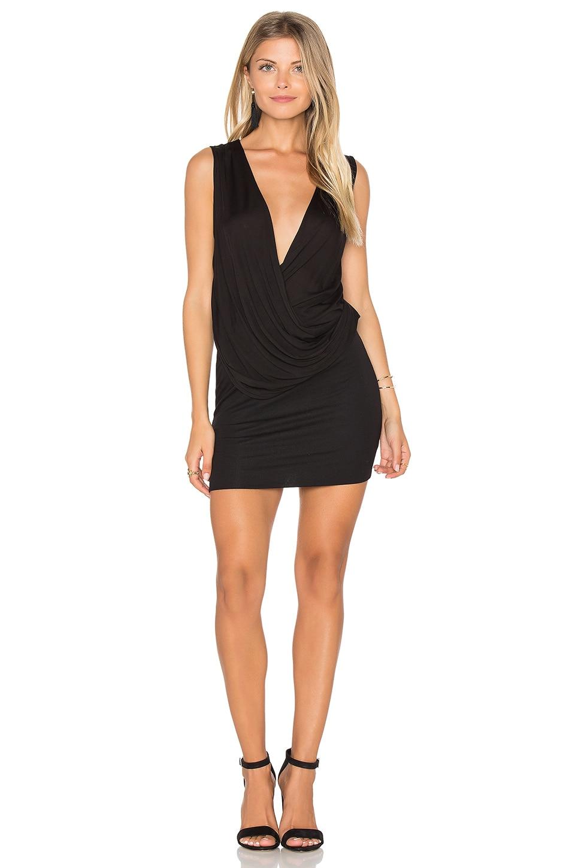 Surplice Mini Dress by Lanston