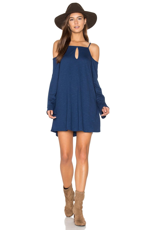 Cold Shoulder Mini Dress by Lanston