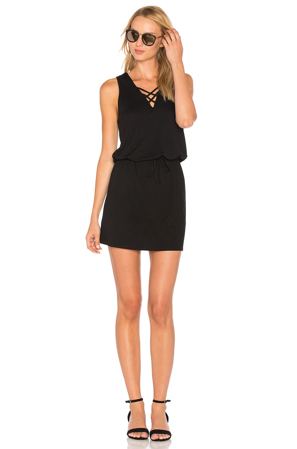 Cross Strap Dress by Lanston