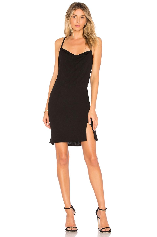 Lanston Slip Dress in Black