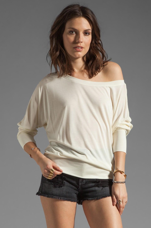 Lanston Boyfriend Sweatshirt in Ivory