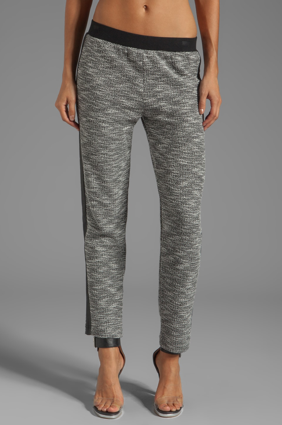 Lanston Tweed Pant in Pepper
