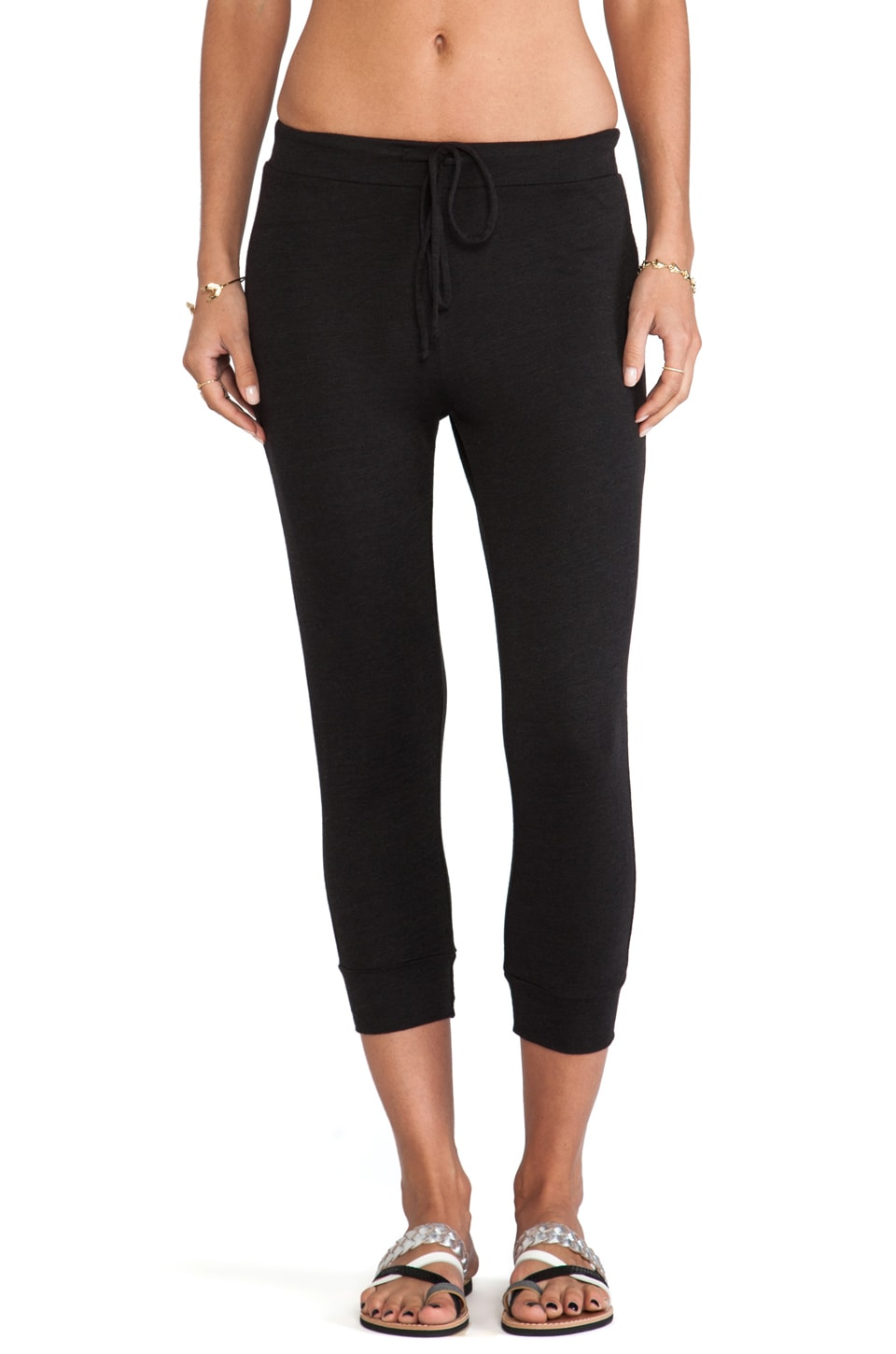 Lanston Cropped Pant in Black