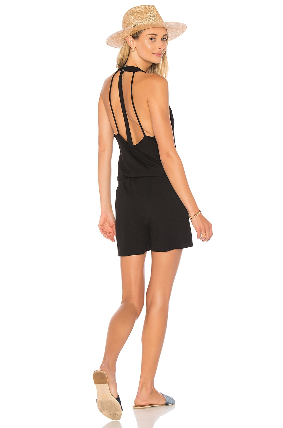Strap Back Romper by Lanston
