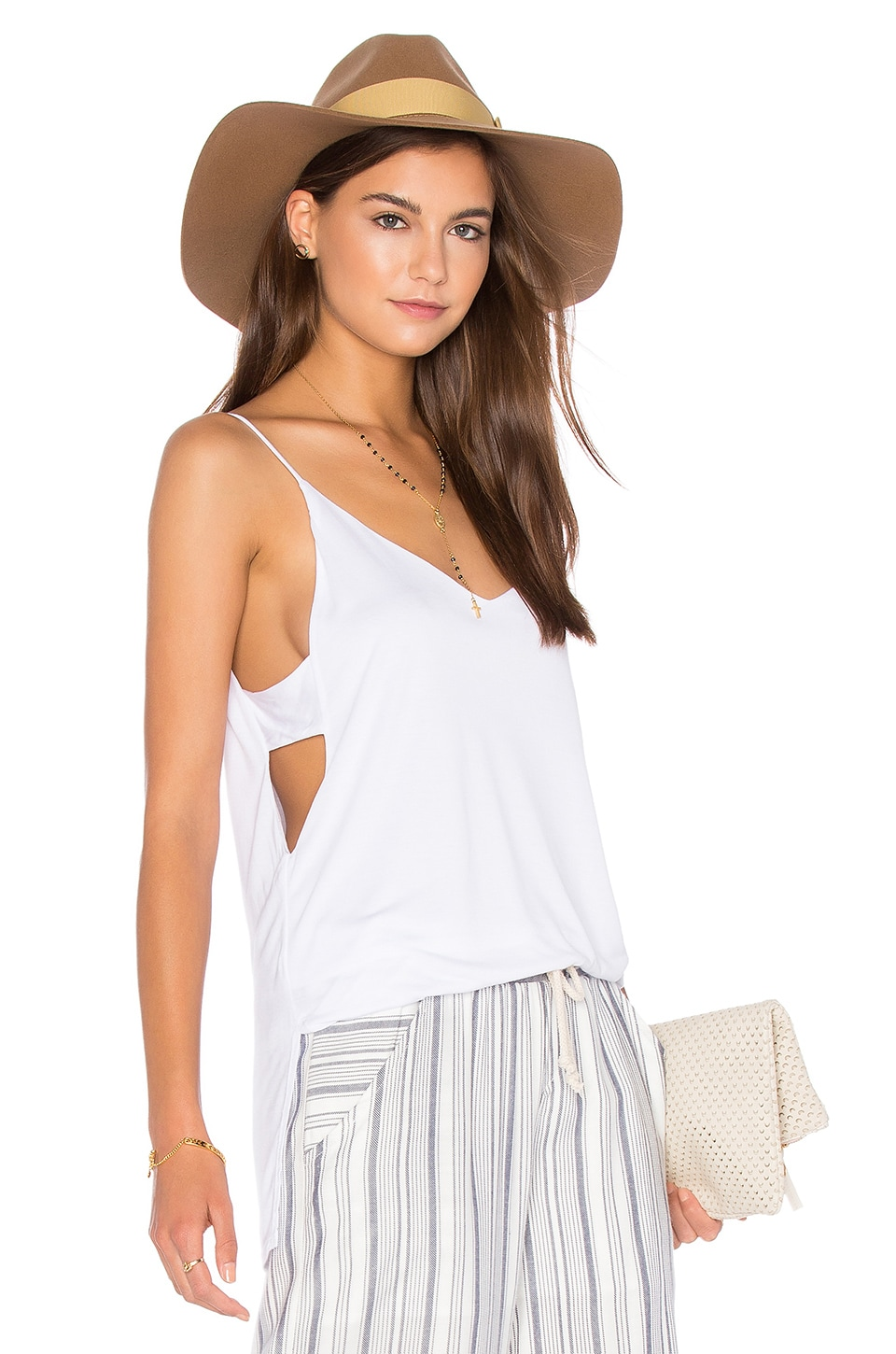 Cut Out Cami by Lanston