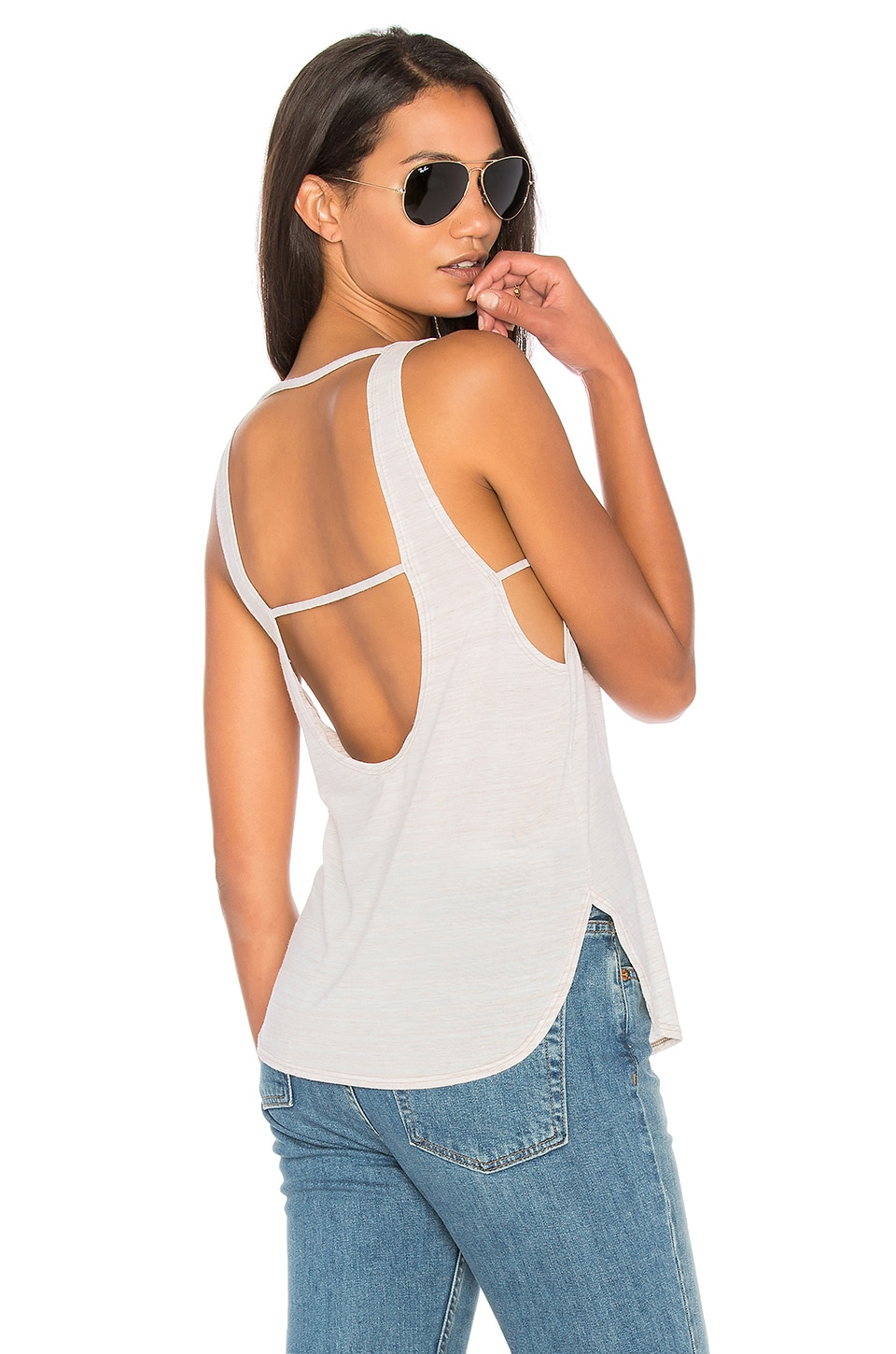 Scoop Muscle Tank by Lanston