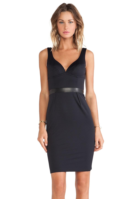 LaPina by David Helwani LaPina Stephanie Dress in Black