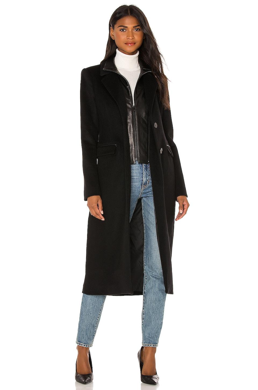 LAMARQUE Malva Coat in Black