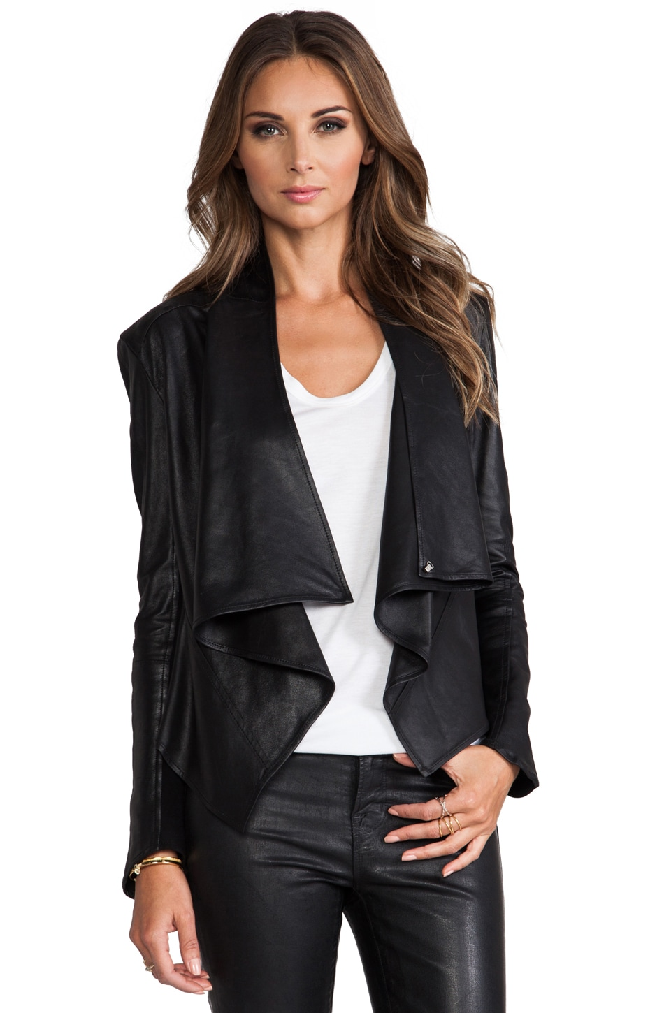LaMarque Madison Leather Jacket in Black