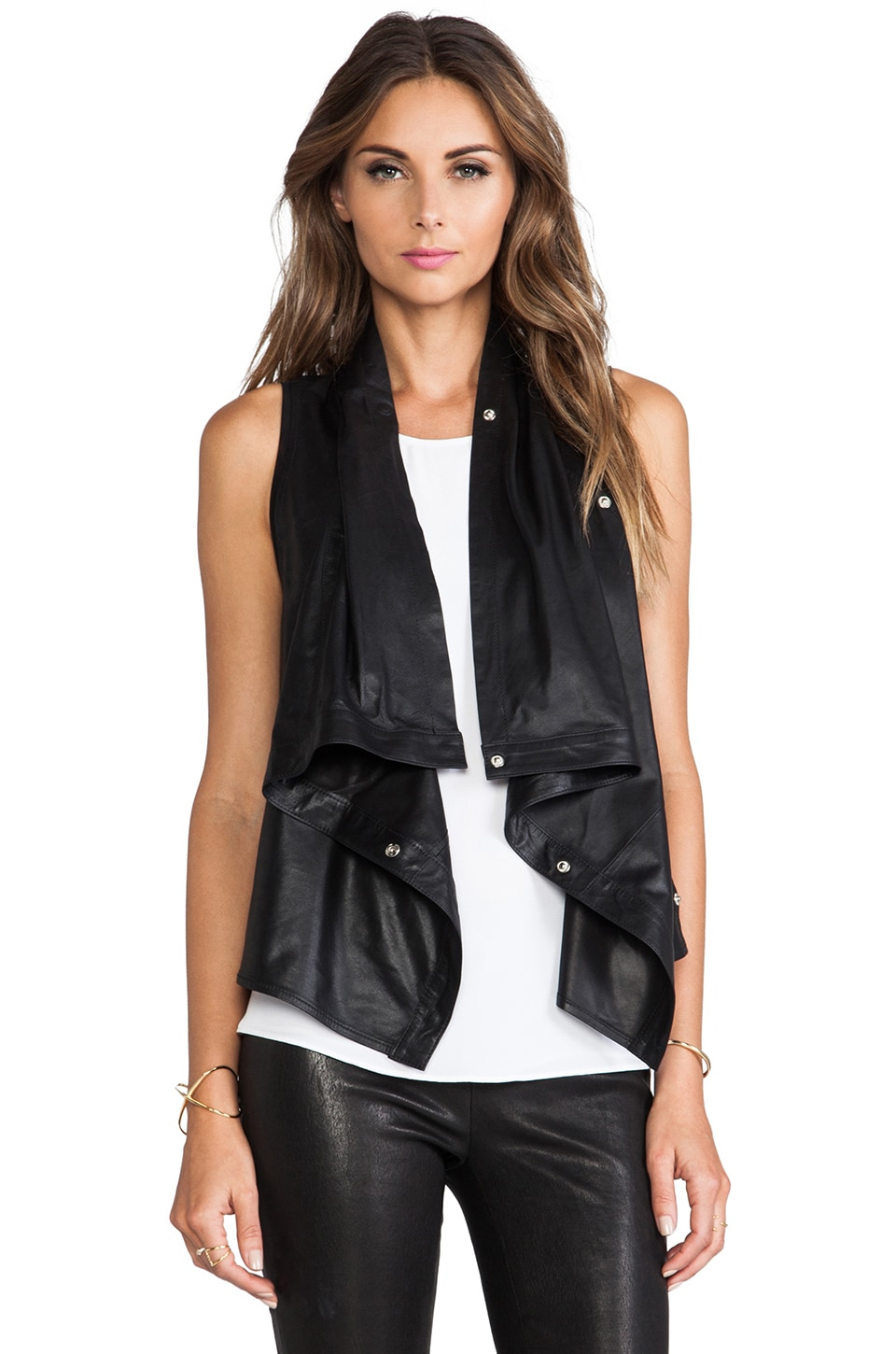 LAMARQUE Sarai Vest in Black