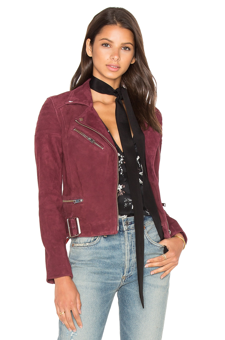 LAMARQUE Laetica Jacket in Burgundy