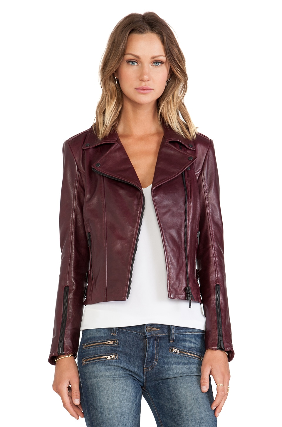 LAMARQUE Joana Jacket in Syrah
