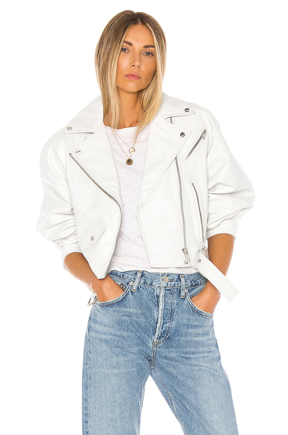 LAMARQUE X REVOLVE Dylan Jacket in White