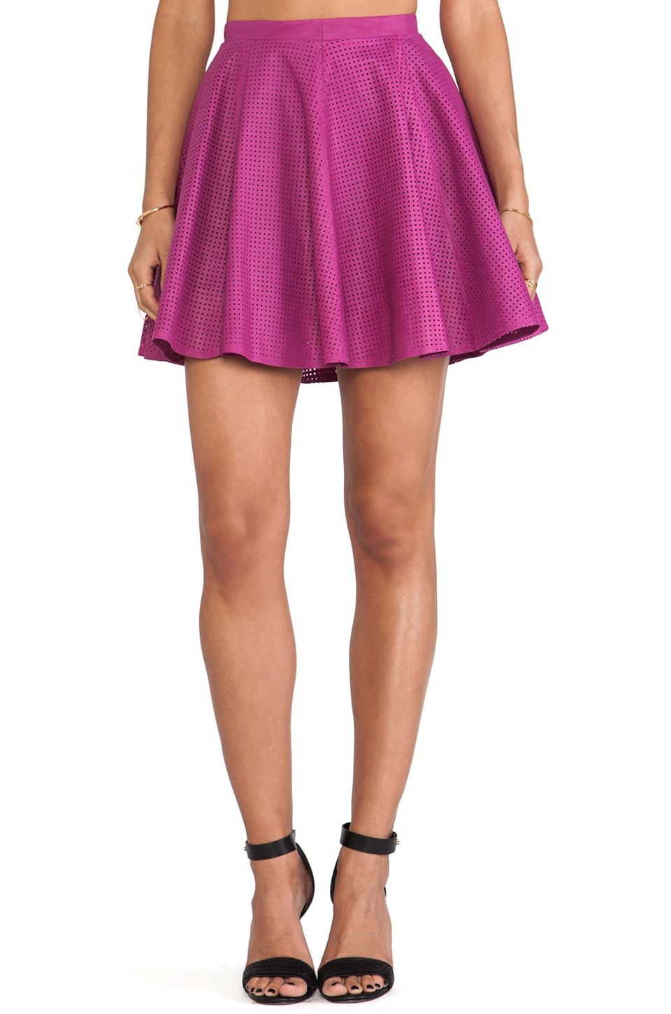 LAMARQUE Aria Skirt in Fuchsia