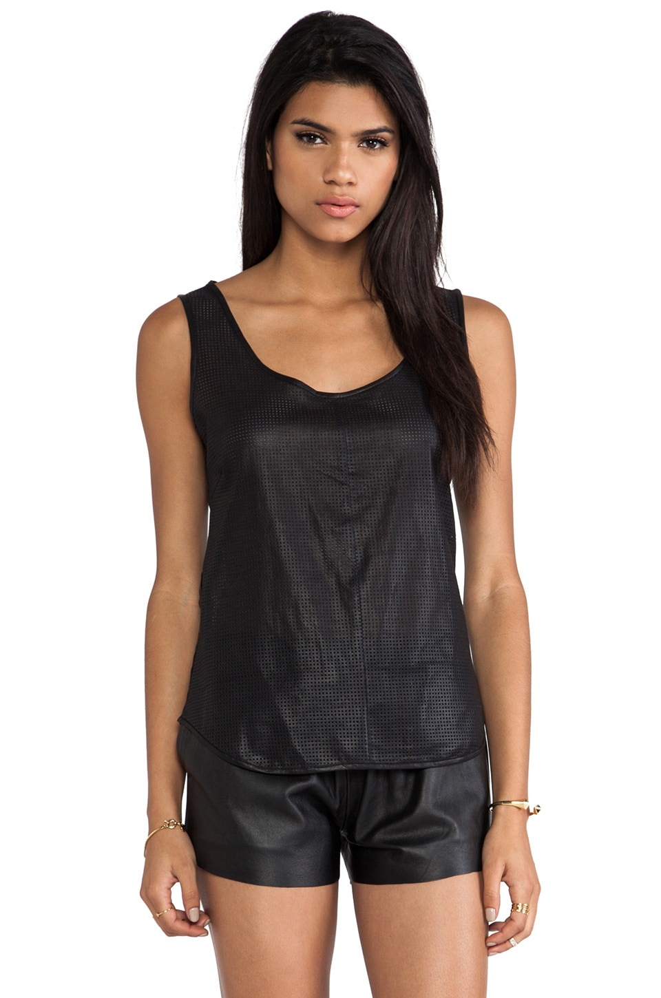 LAMARQUE Nikki Tank in Black