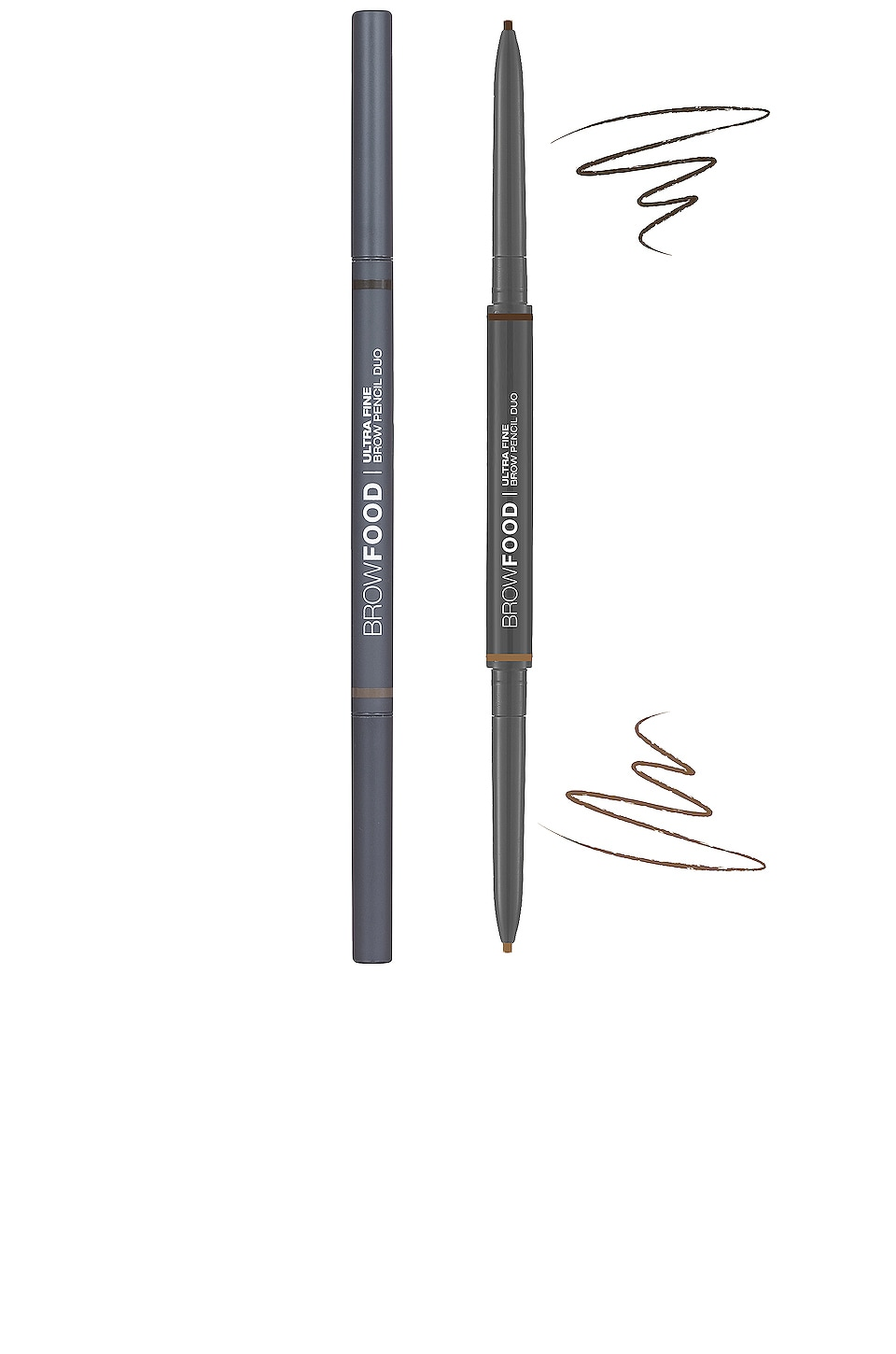 Lashfood Browfood Ultra Fine Brow Pencil Duo in Dark Brunette