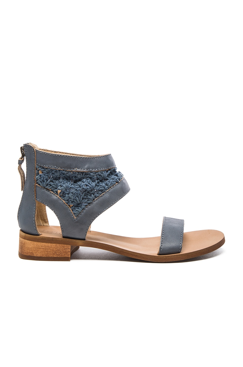 Latigo Rupee Sandal in Denim Blue