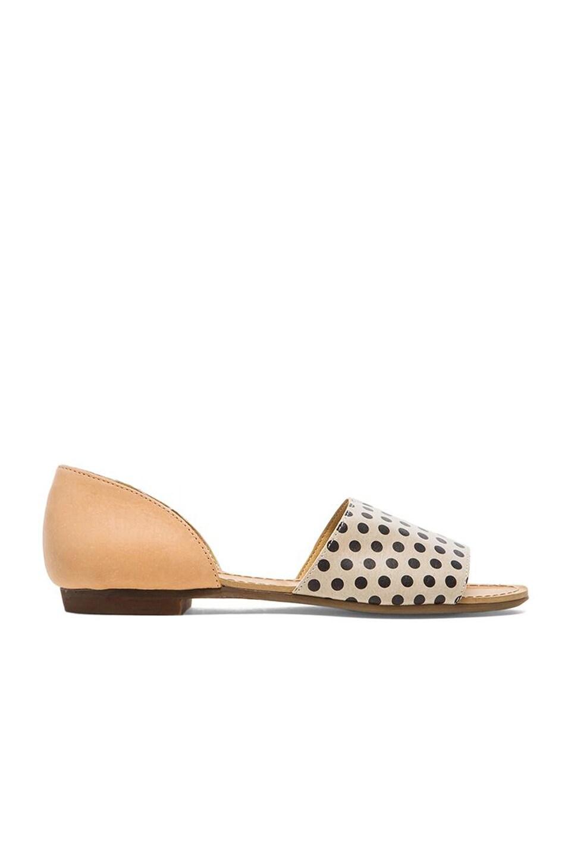 Latigo Milly Pokadot Sandal in Dots & Natural