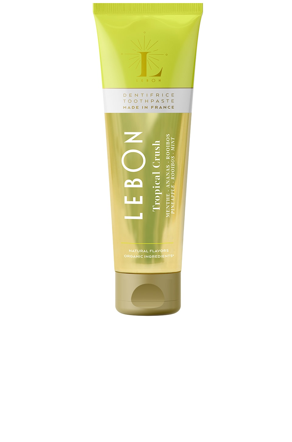 LEBON Tropical Crush Toothpaste in Pineapple & Rooibos & Mint