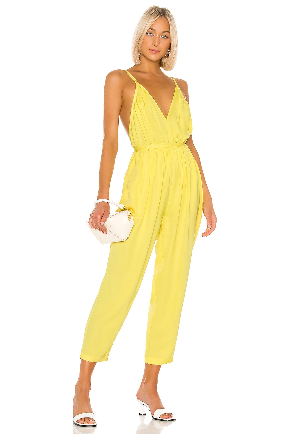 L'Academie The Affi Jumpsuit in Yellow