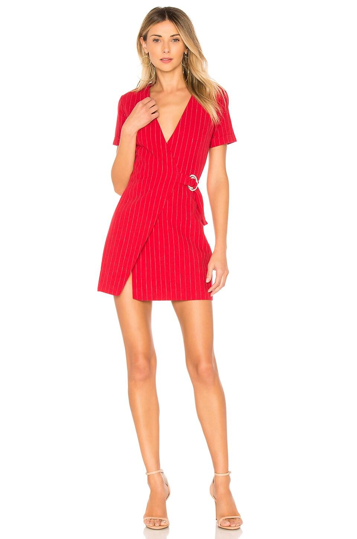 L'Academie The Turk Dress in Red Stripe