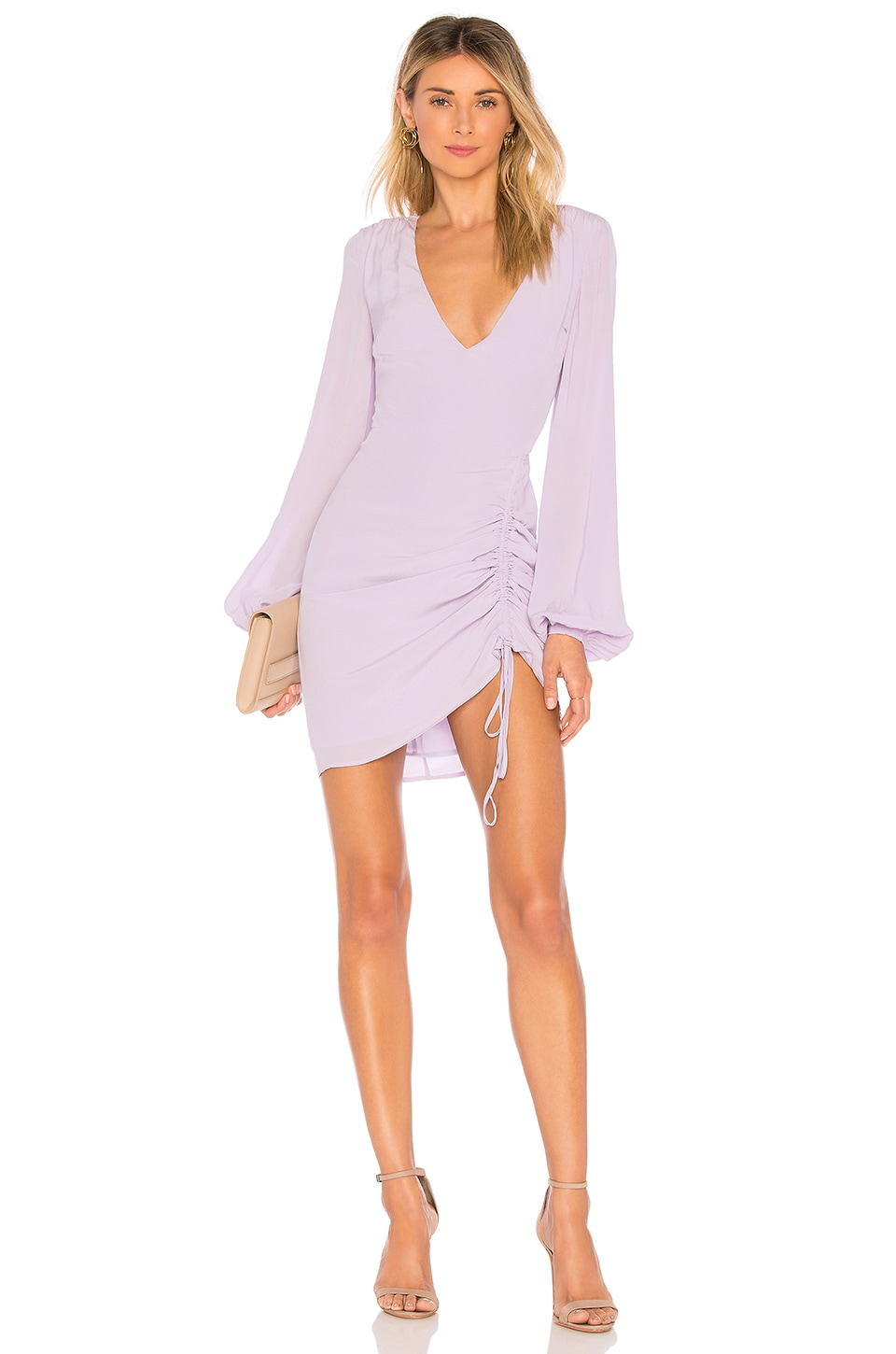 L'Academie The Pearl Dress in Lilac