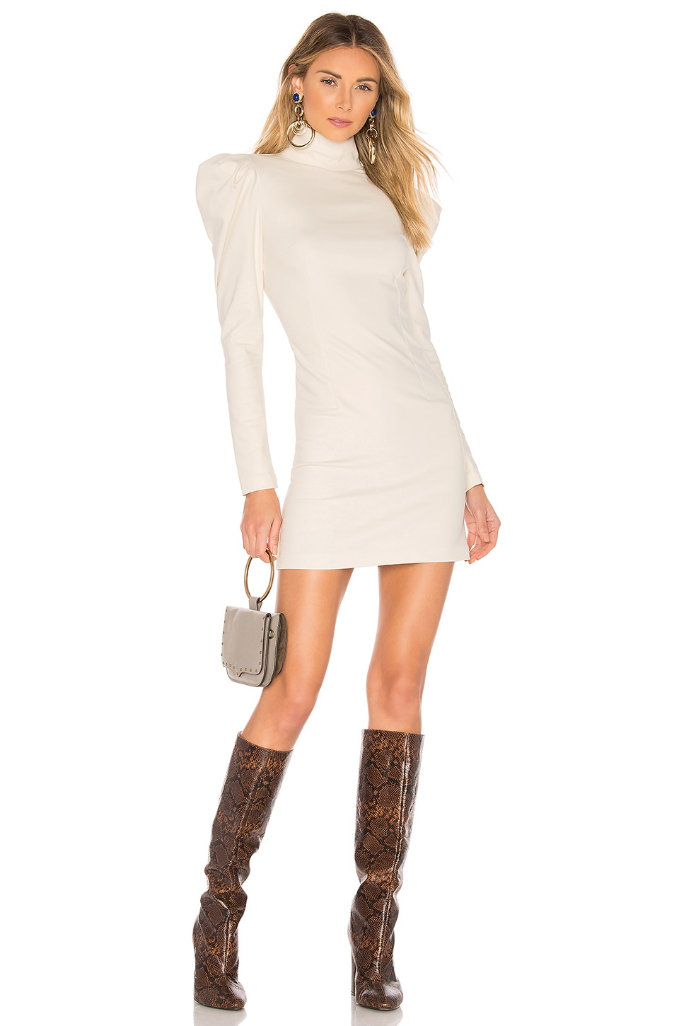 L'Academie The Judith Dress in Bone