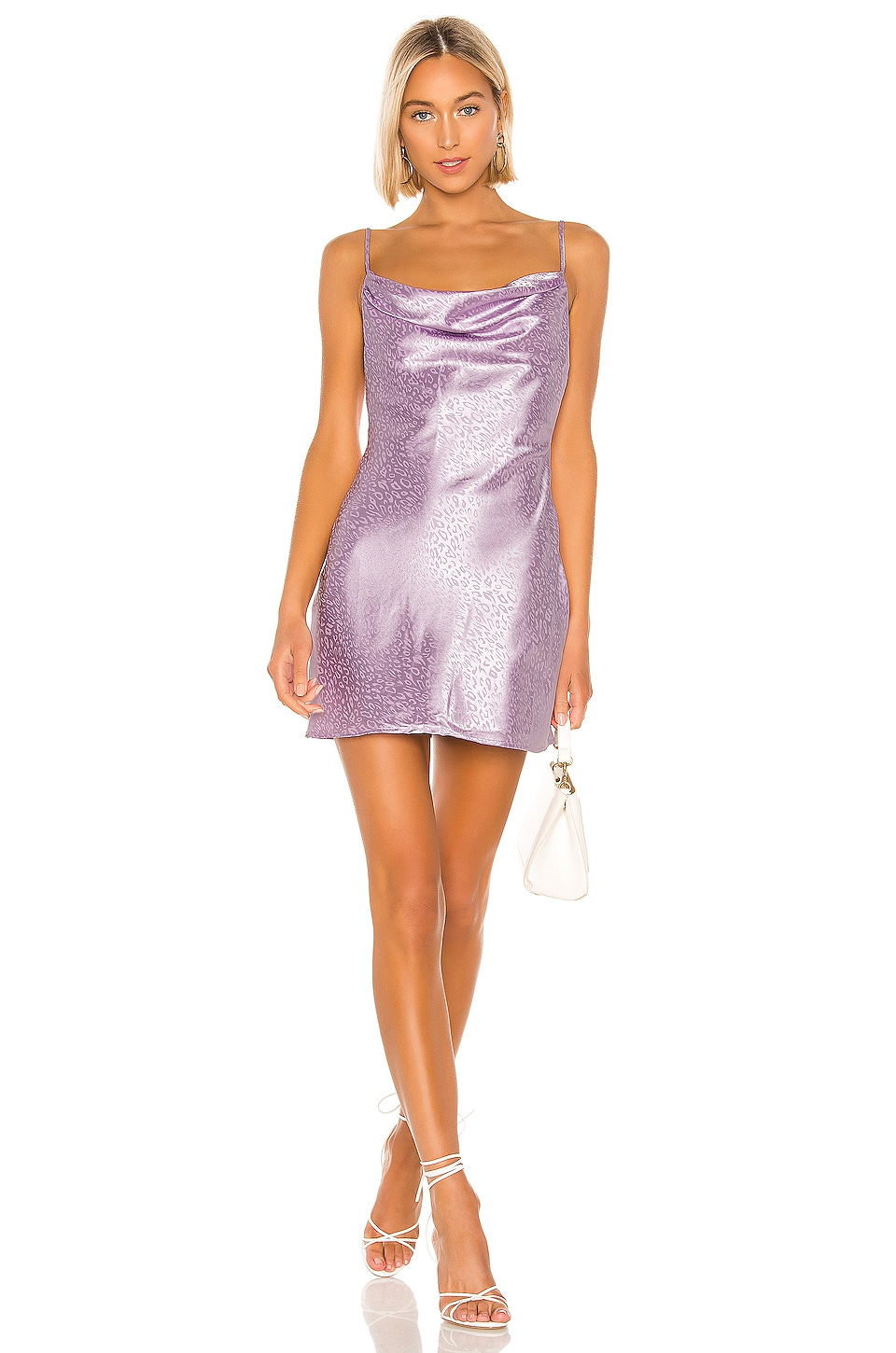 L'Academie Take Me Away Dress in Lavender