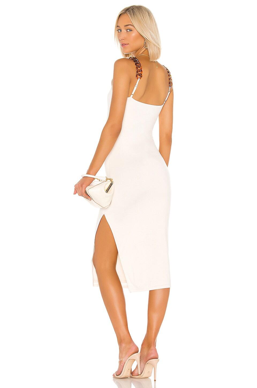 L'Academie The Gigi Midi Dress in Cream