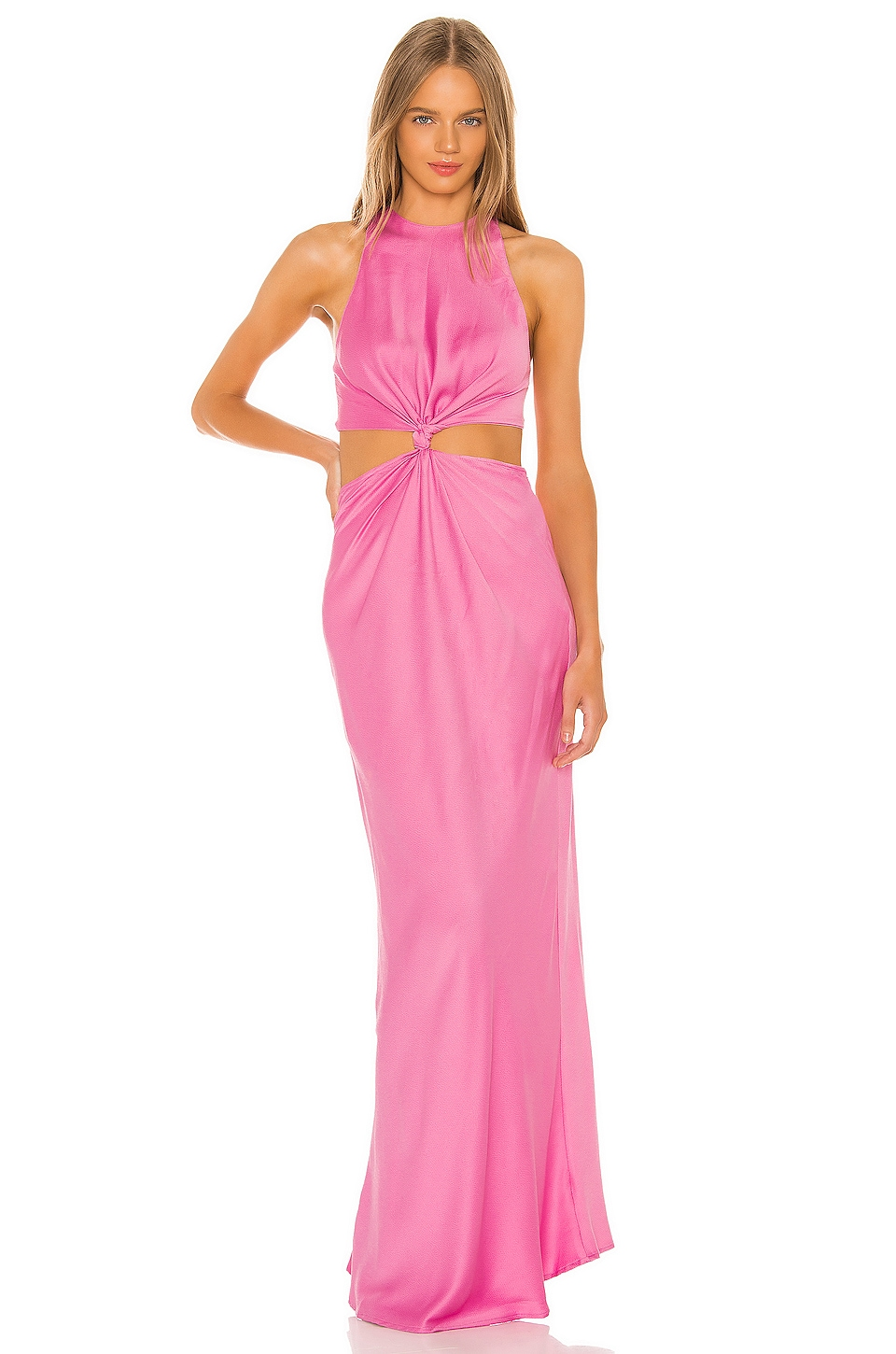 L'Academie The Sinclair Maxi Dress in Orchid