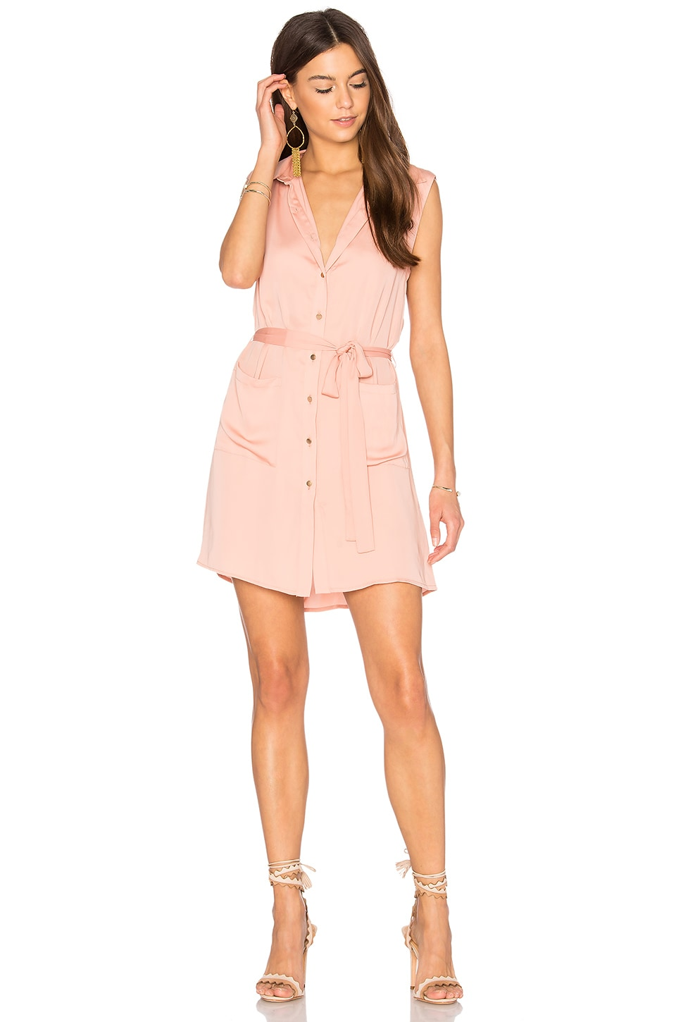 The Sleeveless Shirt Dress by L'Academie