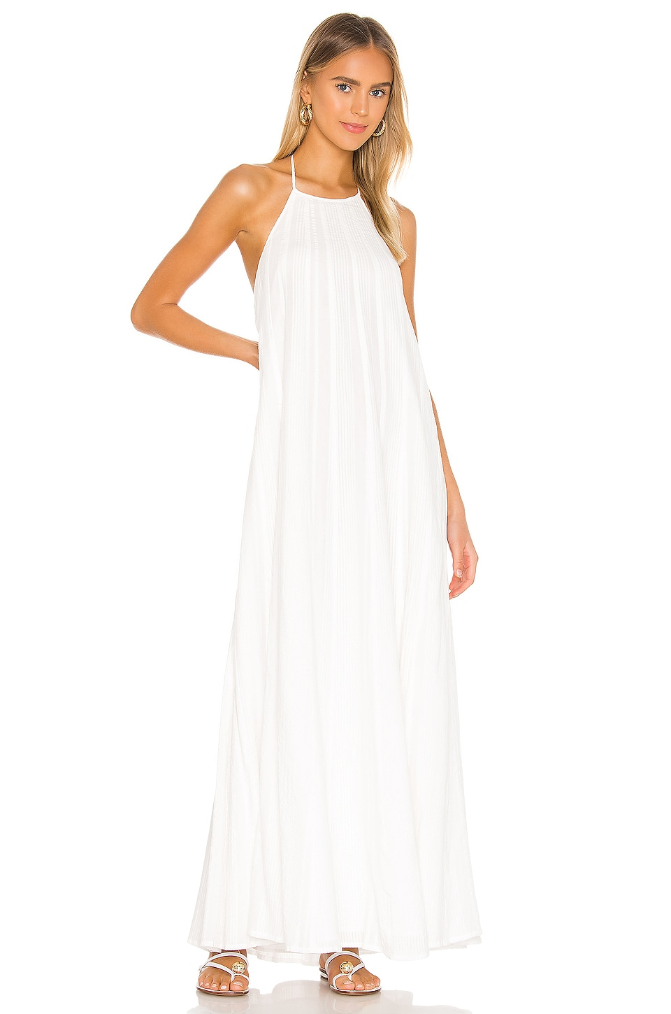 L Academie The Phila Maxi Dress In White Revolve Check out our ivory maxi dress selection for the very best in unique or custom, handmade pieces from our dresses shops. l academie