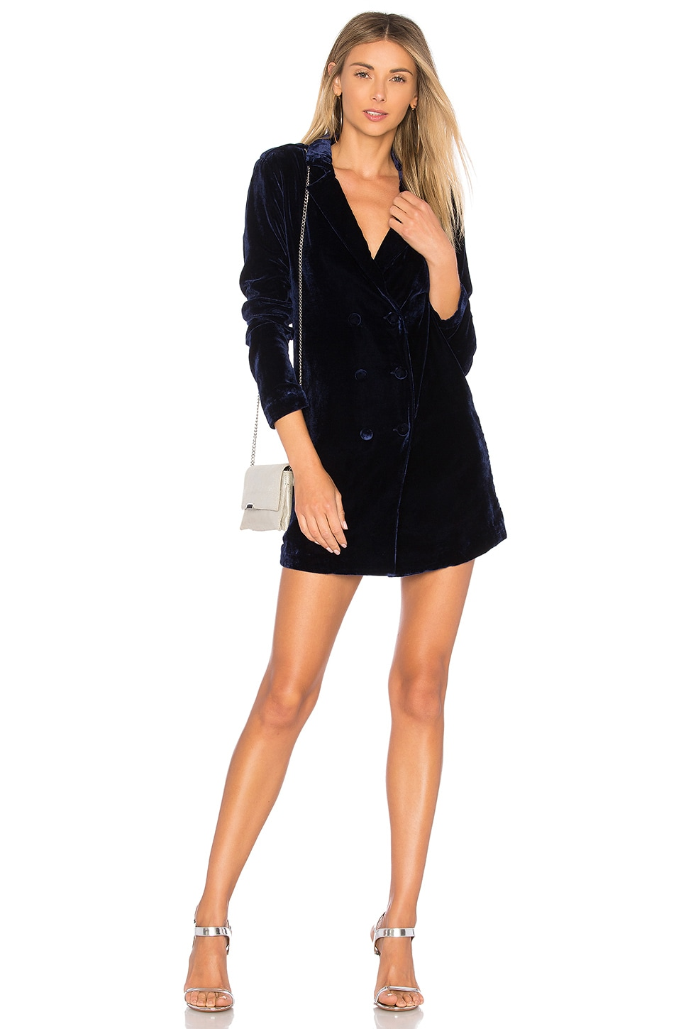 L'Academie The Military Dress in Navy