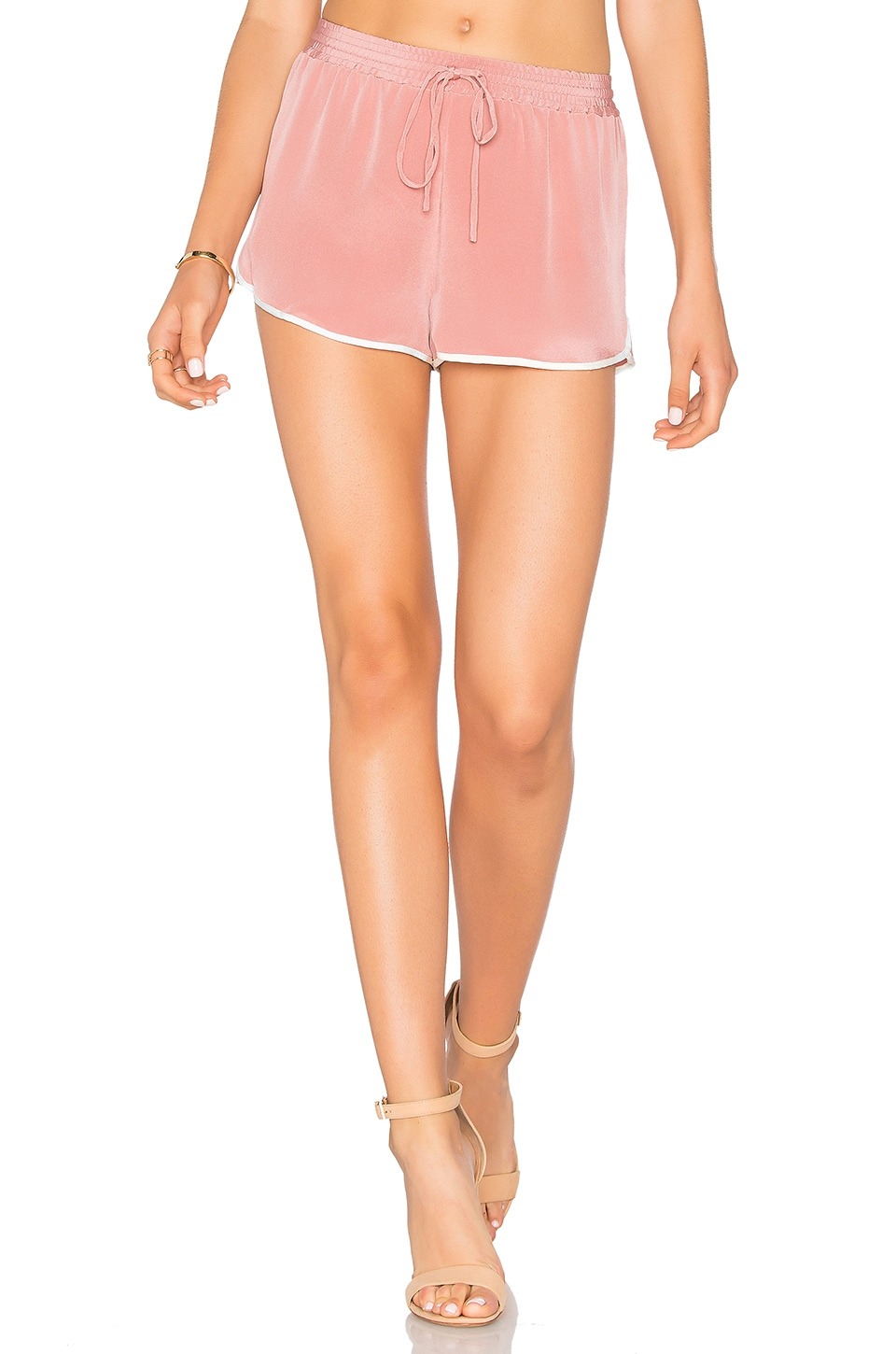 L'Academie x REVOLVE The Silk Short in Nude