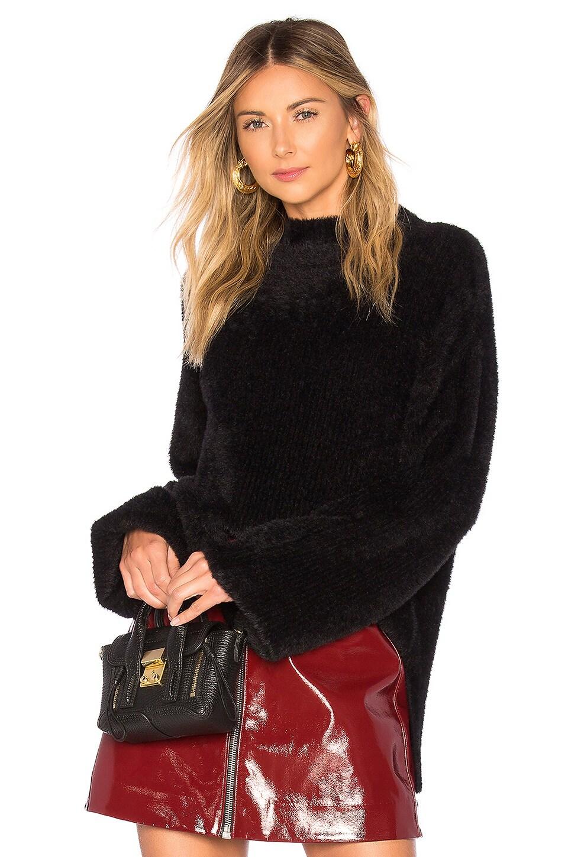 L'Academie Kyla Sweater in Black