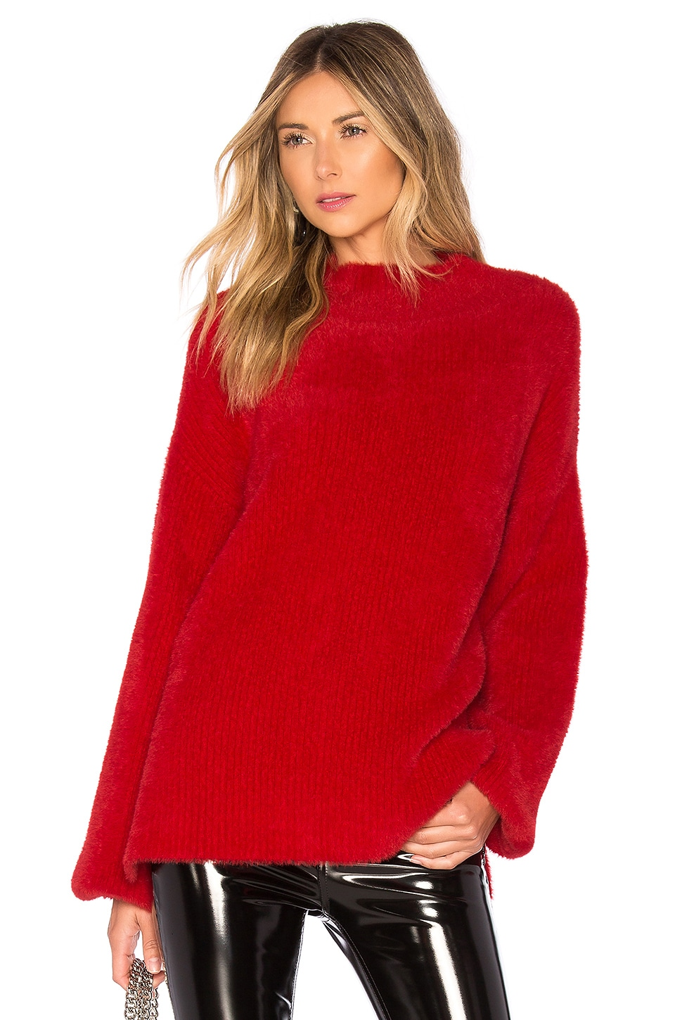 L'Academie Kyla Sweater in Red