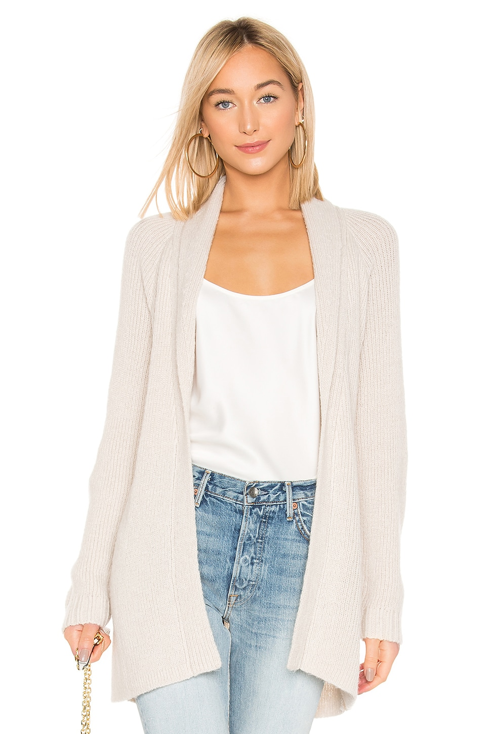 L'Academie Whitney Cardigan in Sand