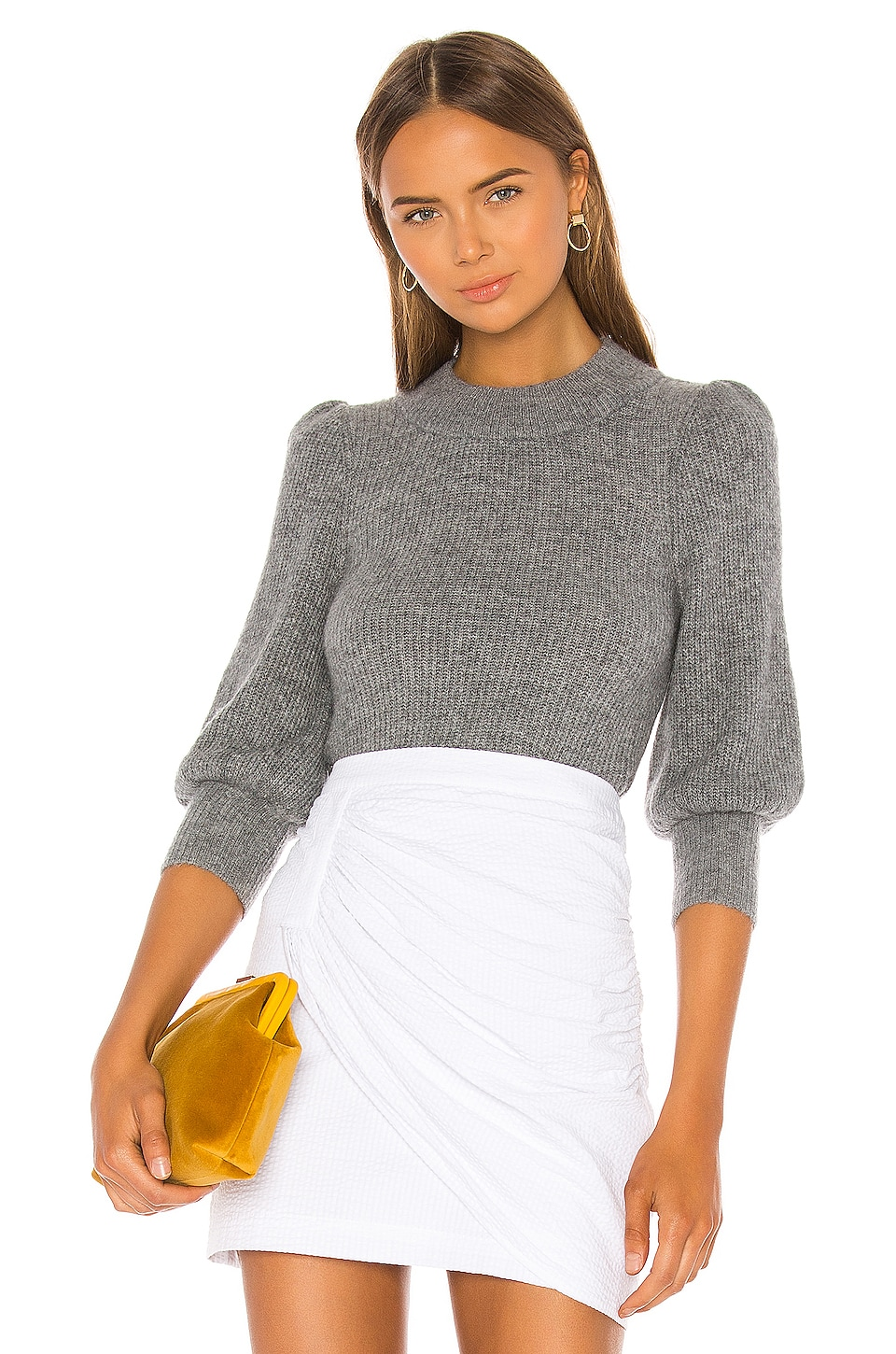 L'Academie Eno Sweater in Charcoal Grey