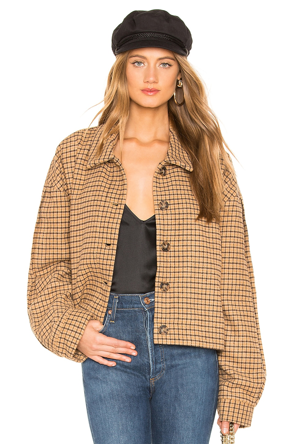 L'ACADEMIE The Gavin Jacket in Tan
