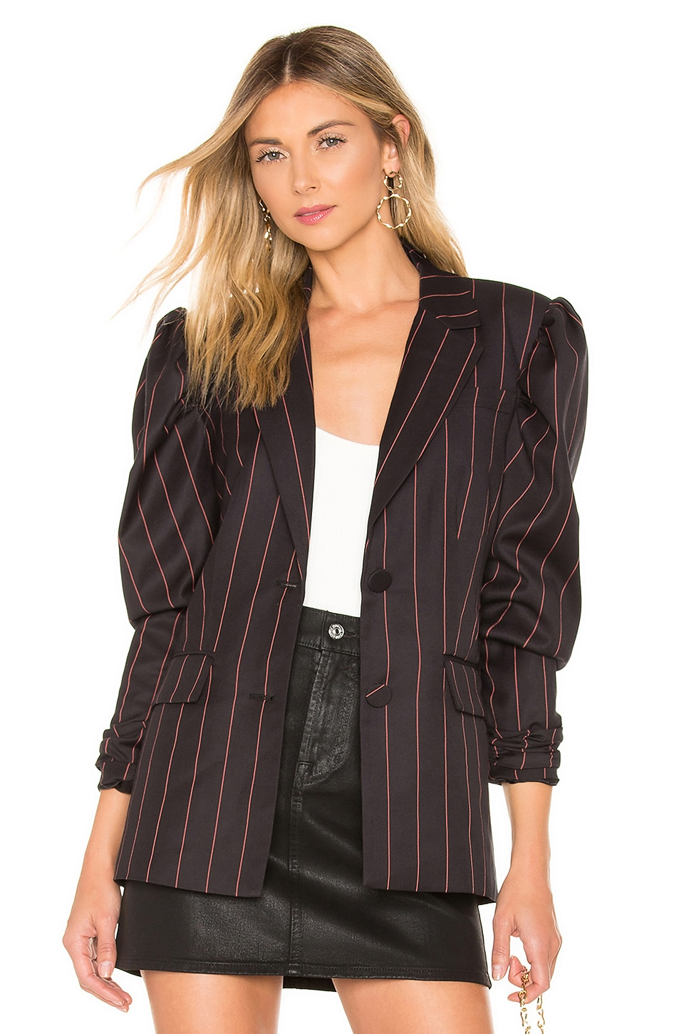L'ACADEMIE The Natalie Jacket in Black