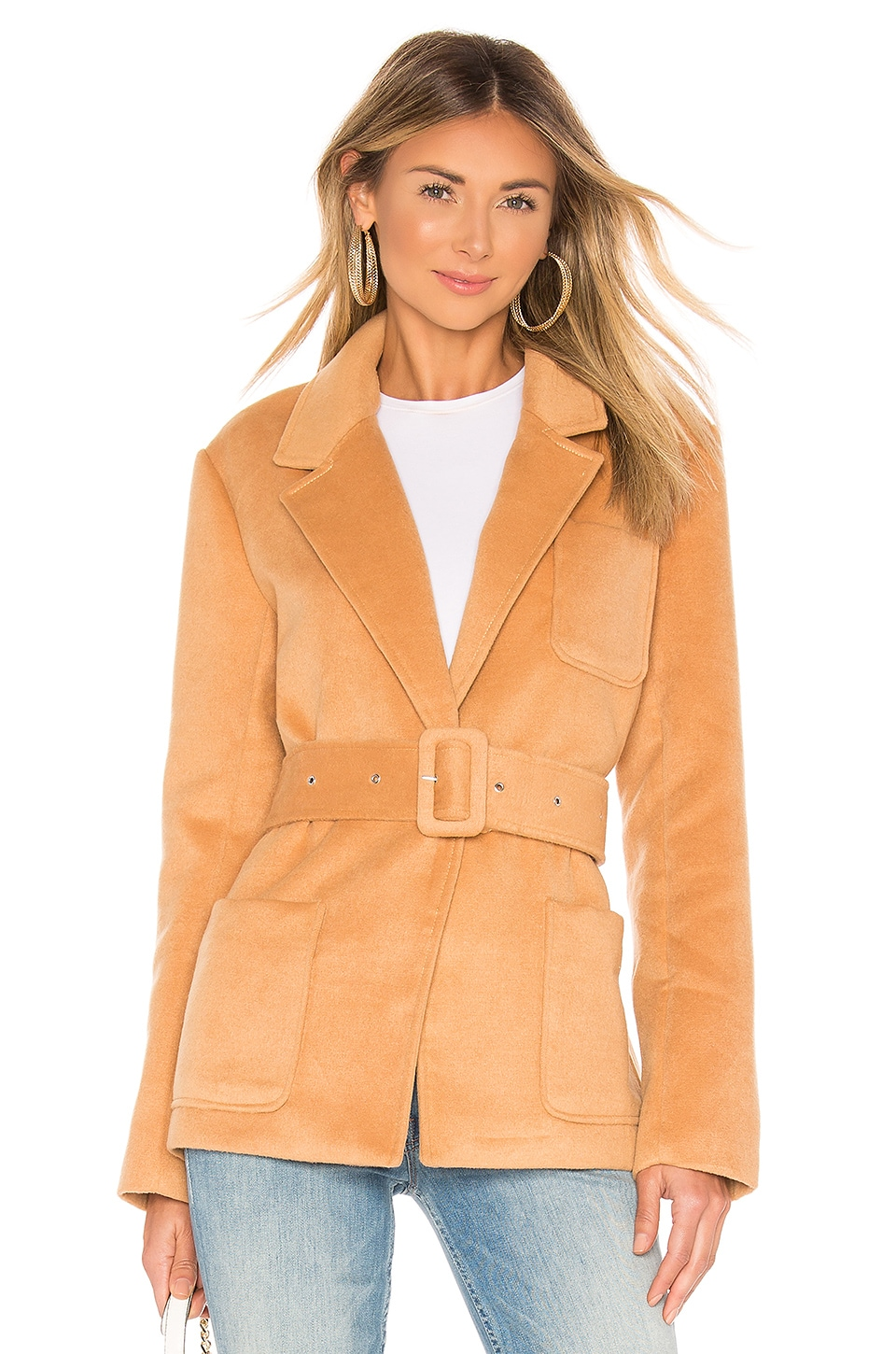 L'ACADEMIE The Susan Jacket in Orange