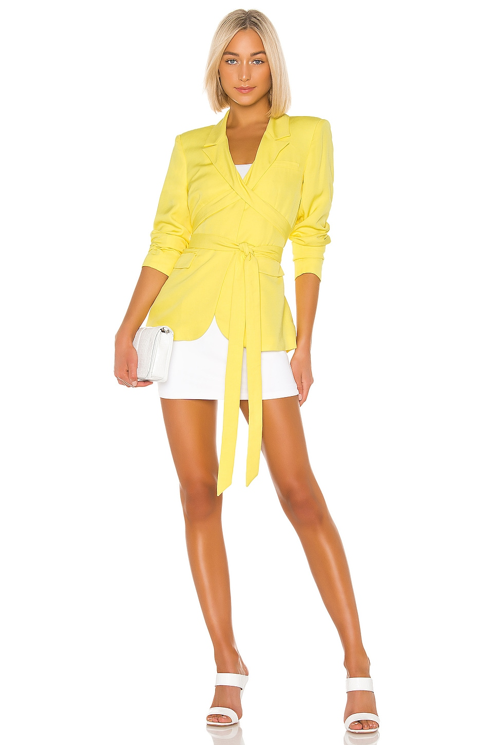 L'Academie The Maggy Blazer in Yellow