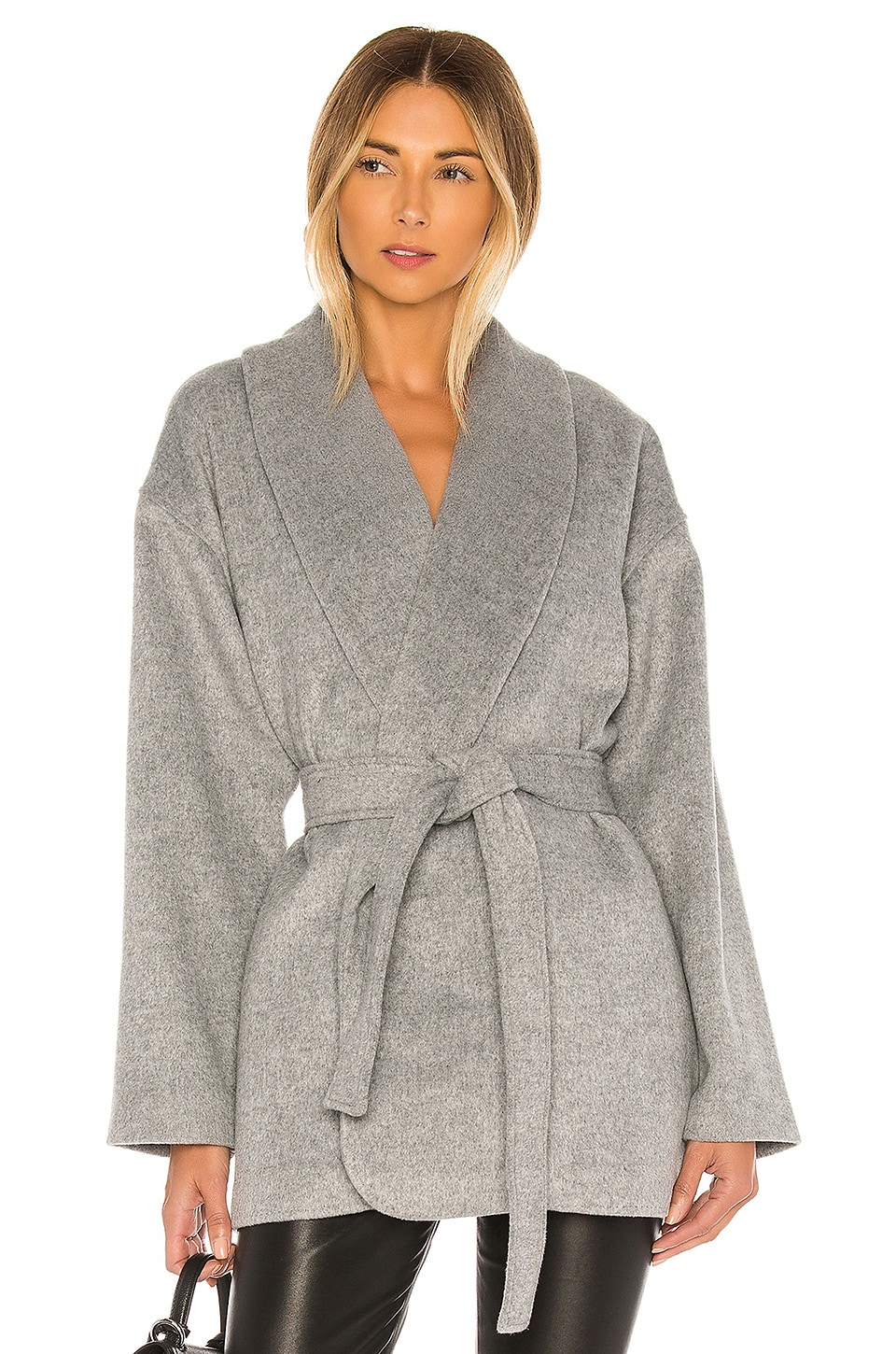 L'Academie The Allyson Coat in Gray